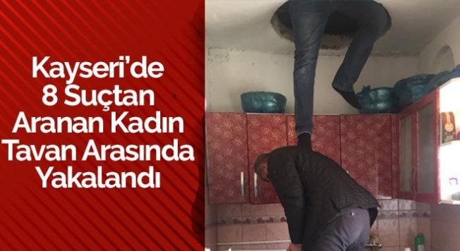 Tavan Arasında Yakalandı