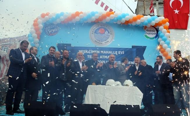 Akdeniz'de 16 Mahalle Taziye Evi Açıldı
