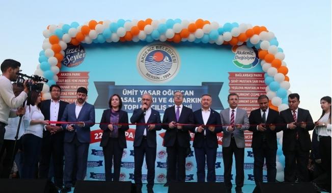 Akdeniz'de 49 Parkın Açılışı Yapıldı