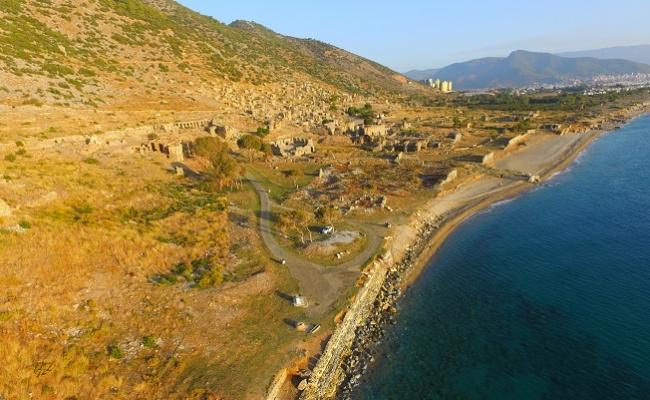 Anemurium Antik Kenti'nde Kazı Süresi 1 Yıla Uzatıldı