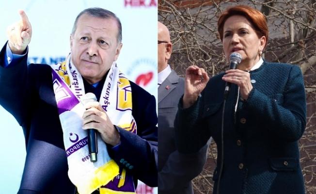 Erdoğan'dan Akşener Hakkında Suç Duyurusu