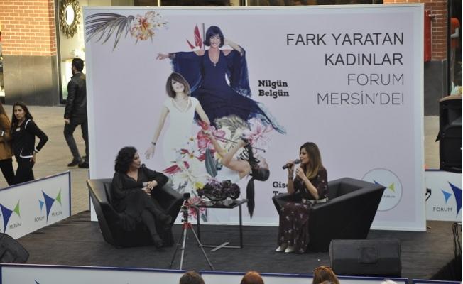 Fark Oluşturan Kadınlar Forum Mersin'de Buluştu