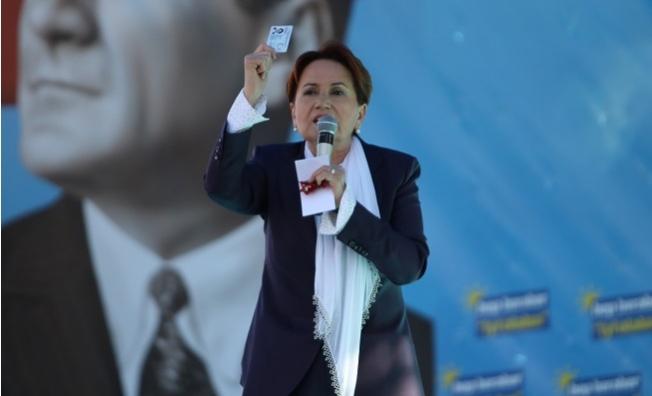 İYİ Parti Genel Başkanı Akşener, Mersin'de Konuştu