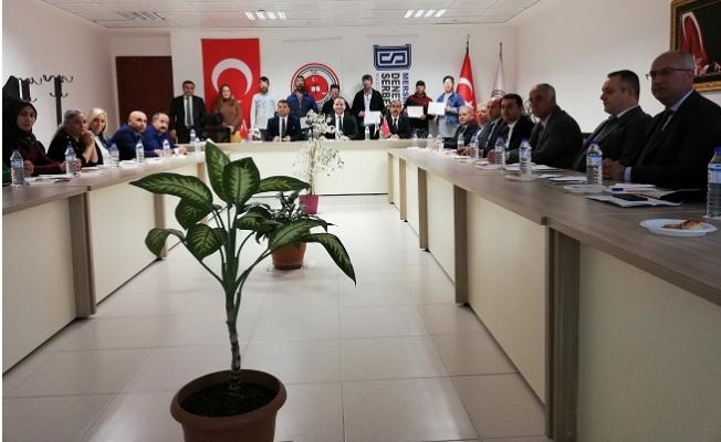 Koruma Kurulu Başkanlığı, Olağan Toplantısını Taptı