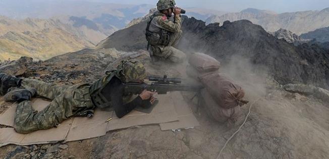 Kuzey Irak'ta Öldürülen Terörist Sayısı 12'ye Çıktı!