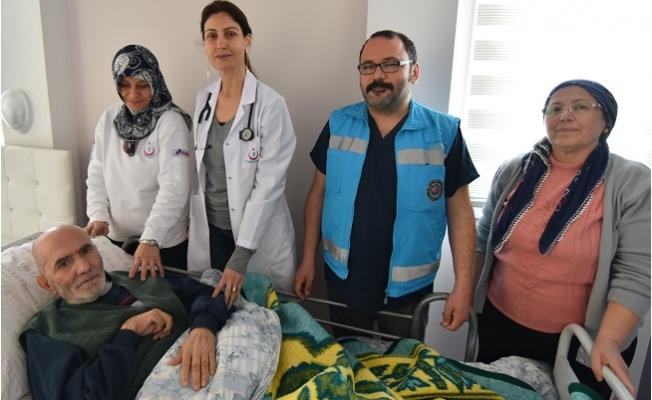 Mersin'de Evde Sağlık Hizmeti Yüz Güldürüyor