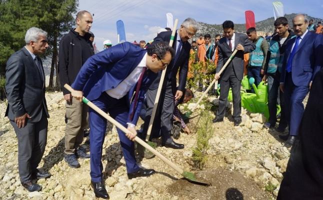 Mersin'de Adalet Ormanı Oluşturuldu