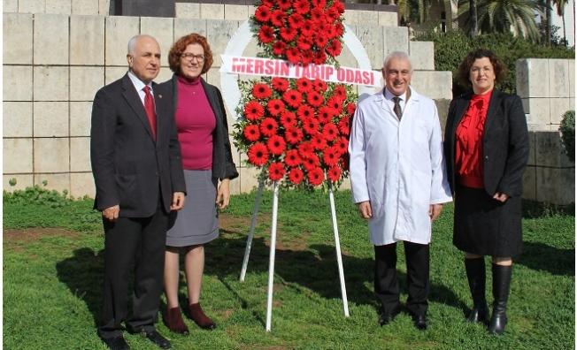 Mersin'de Tıp Bayramı Törenle Kutlandı