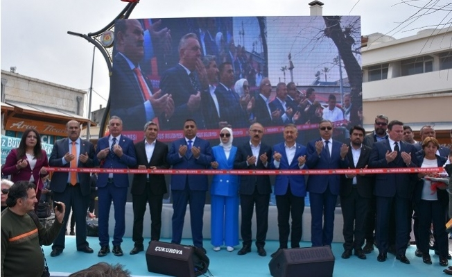 Tarsus Tarihi Ticaret Merkezi Törenle Açıldı