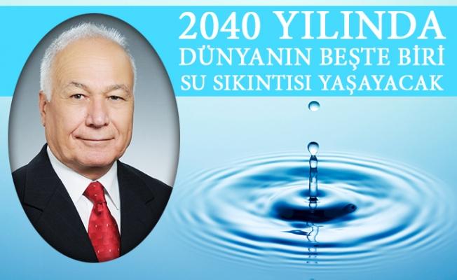 """""""Türkiye, 2040'ta Su Sıkıntısı Beklenen Ülkeler Sıralamasında 27'nci Sırada"""""""