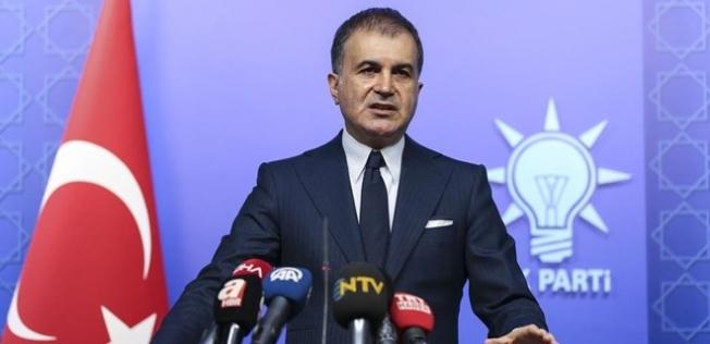 AK Parti Sözcüsü Ömer Çelik'ten ABD'nin Seçim Yorumuna Tepki