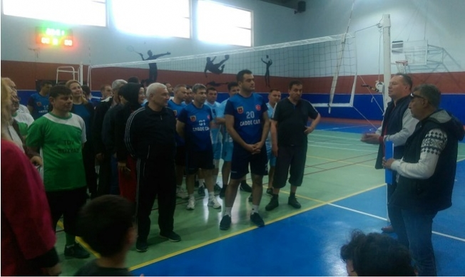 Bozyazı Kurumlar Arası Voleybol Turnuvası Başladı
