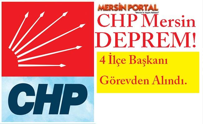 CHP Mersin'de Deprem!