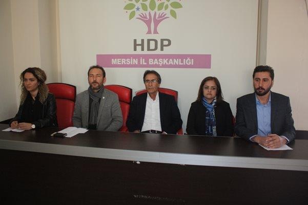 HDP, Akdeniz İlçesindeki Seçimin İptalini İstedi