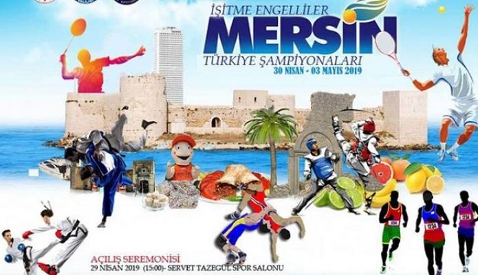 İşitme Engellilerin 7 Şampiyonası Mersin'de Düzenlenecek