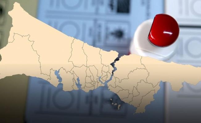 İstanbul'da Son Durum 39 İlçede Kime Kaç Oy Yazıldı?
