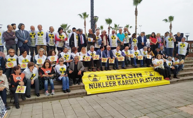 Mersin'de Nükleer Karşıtlarından Çernobil Tepkisi