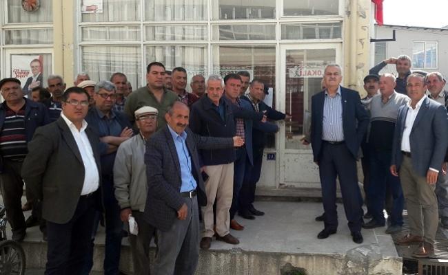 Mut'da Seçim Yenilgisinden Sonra CHP'nin Kapısına Kilit Vuruldu