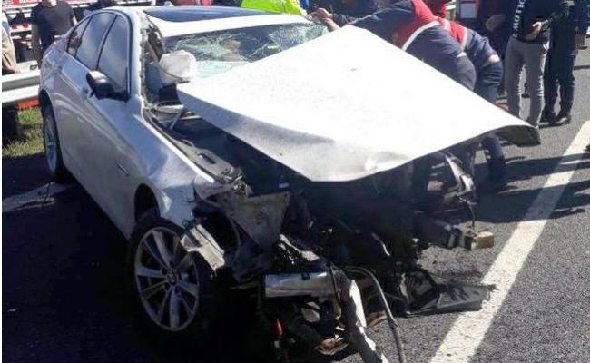 Otomobil Takla Attı, 3 Kişi Yaralandı.