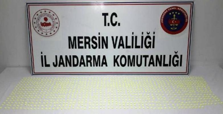 Tarsus'da 1200 Adet Uyuşturucu Ecstacy hap Ele Geçirildi.