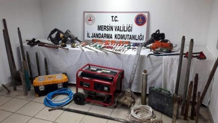 Tarsus'ta Kaçak Kazıya Suçüstü