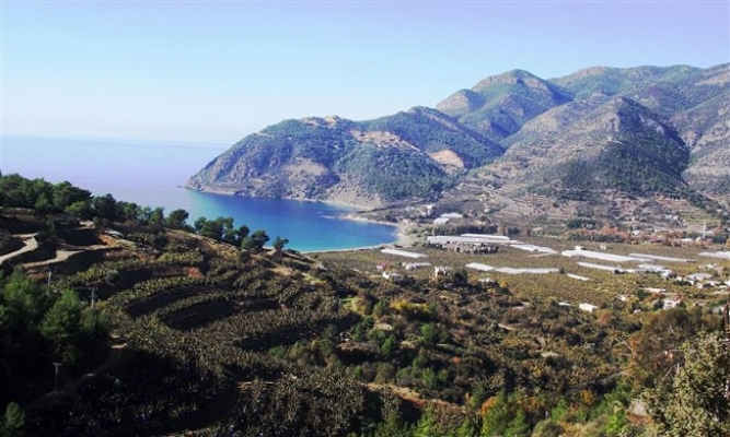 Türkiye'nin Muz Cenneti Anamur'a Mermer Ocağına Tepki
