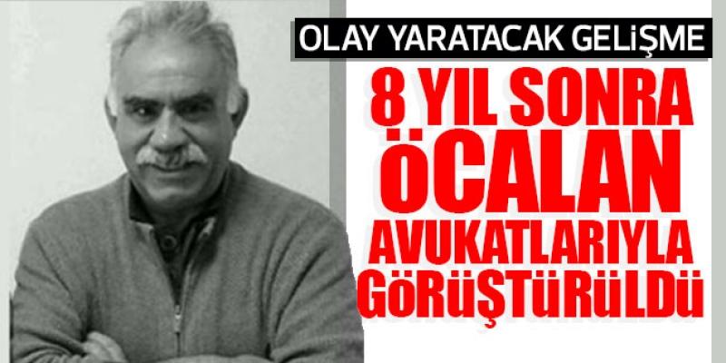 Abdullah Öcalan, 8 Yıl Sonra Avukatlarıyla Görüştü