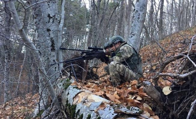 Amanoslar'da 5 PKK'lı Terörist Öldürüldü...