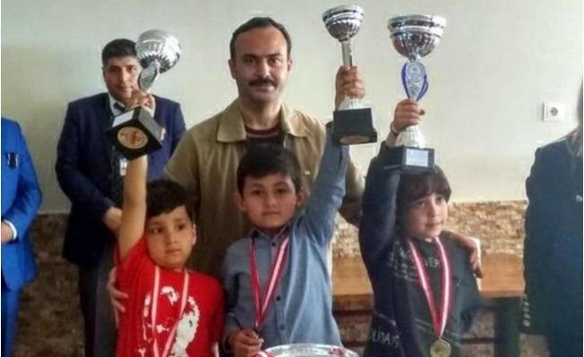 Anamur'da Satranç Turnuvası Sona Erdi