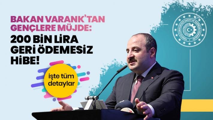 """""""200 Bin Liraya Kadar Geri Ödemesiz Hibe Desteği"""""""