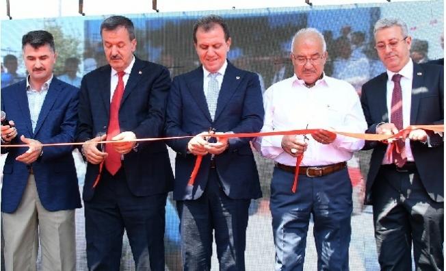 Başkan Seçer, Anıt Kavşağını Burhanettin Kocamaz İle Açtı.