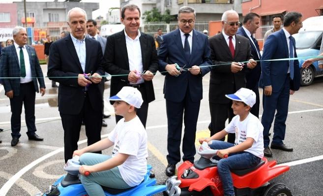 Büyükşehir'den Çocuklara Trafik Eğitim Parkı