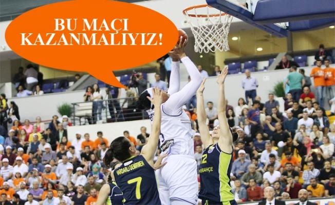 Çukurova Basketbol, Final Serisindeki Eşitliği Bozma Peşinde.