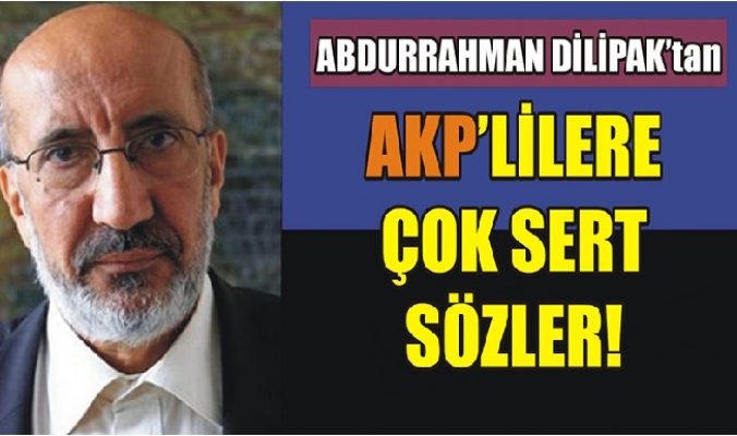 Erdoğan'ı Uyardı: Bedeli Ağır Olur