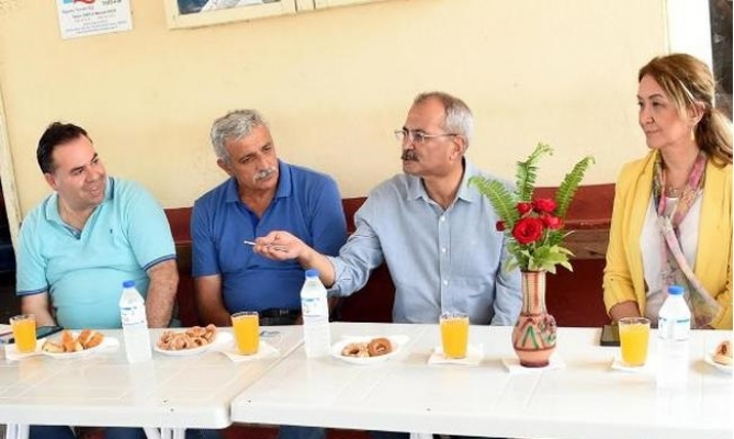 Başkan Bozdoğan Köyleri Ziyaret Etti