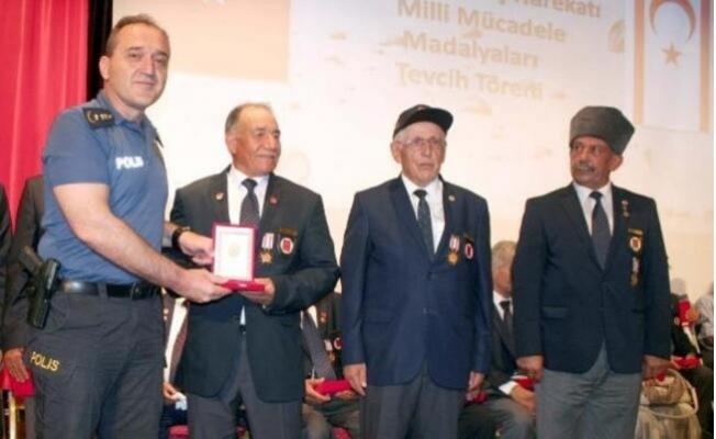 Kıbrıs Gazilerine Milli Mücadele Madalyası
