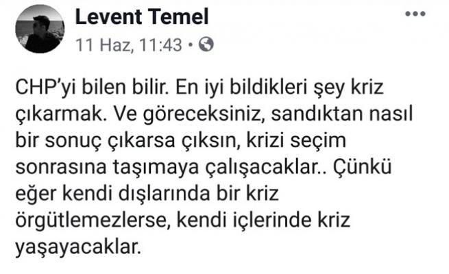 Mersin'de AKP Propagandası Yapan Okul Müdürü Meclis Gündeminde