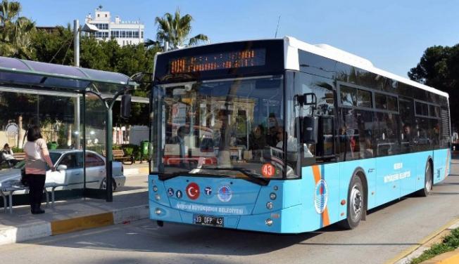 Mersin'de Bayram Boyunca Toplu Taşıma Ücretsiz Olacak