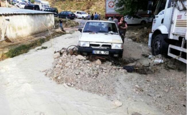 Mut'ta Sel Nedeniyle İçme Suyunun Kullanılmaması İstendi