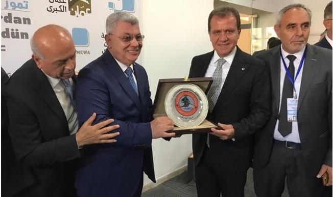 Başkan Seçer, Ürdün'de Mersin'i Temsil Etti.