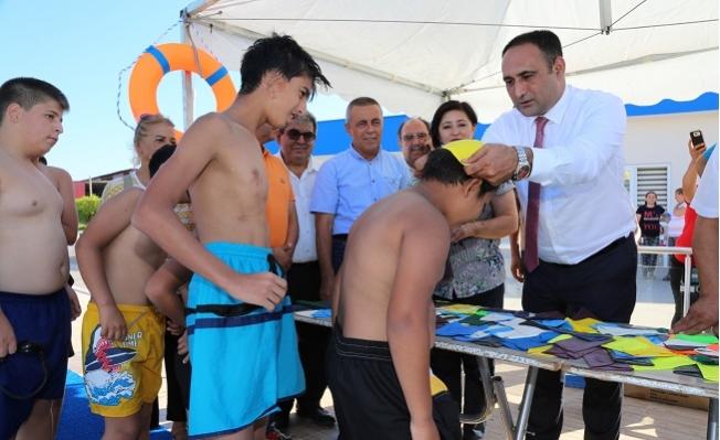 """Başkan Yılmaz, Milli Yüzücüler Yetiştirmek İstiyoruz"""""""