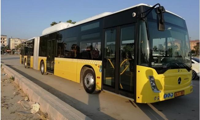 Mersin'de Toplu Taşımada Doğal Gazlı Otobüse Geçiliyor
