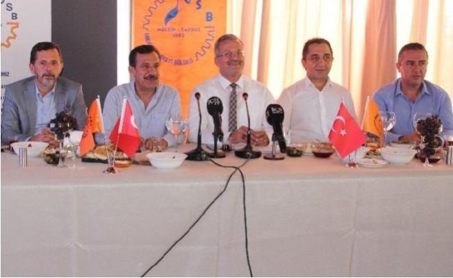 Sabri Tekli Organize Sanayi Bölgesinin Son Durumunu Değerlendirdi.