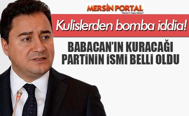 Türk Patent'e Başvuruldu: İşte yeni Partinin Adı