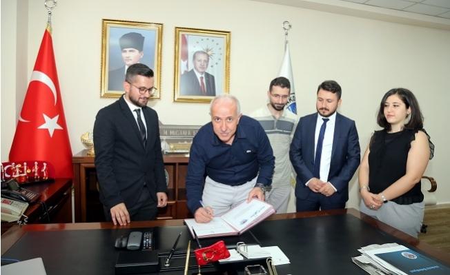 Akdeniz Belediyesi ile MSYD Arasında Protokol İmzalandı.