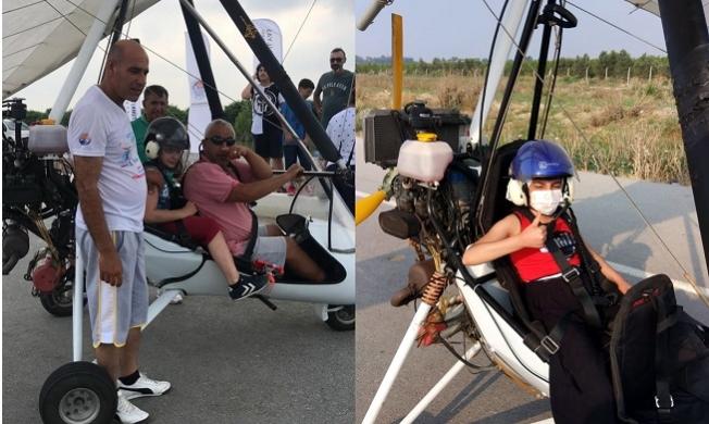 Akdeniz Belediyesi'nin Düzenlediği Uçuş Festivali Devam Ediyor