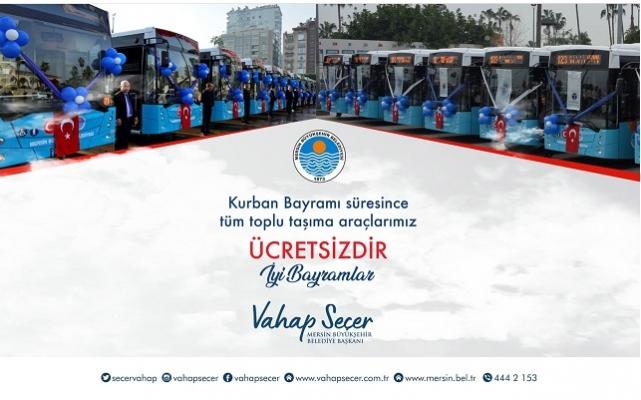 Bayram'da Ulaşım Ücretsiz