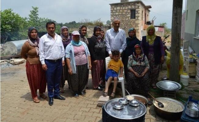 Kaymakam Cinbir, Kırsal Mahallede Vatandaşla Buluştu