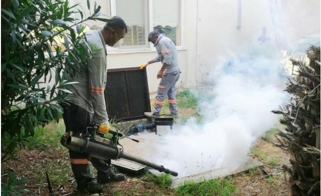 Mersin'de Haşere İle Mücadele 20 Ekip İle Sürüyor