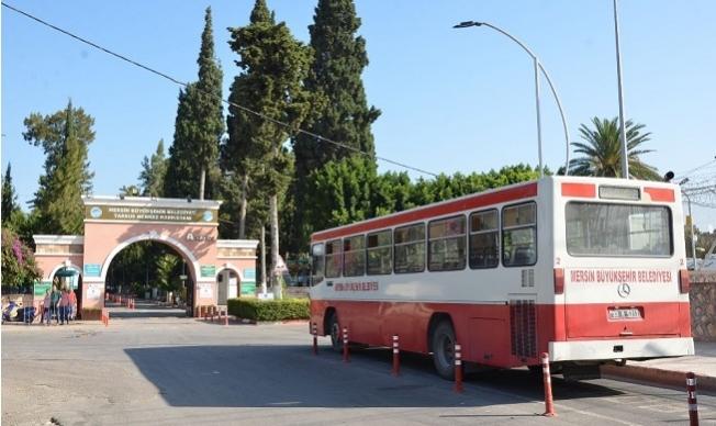 Mersin'de Merkez Mahallelerden Şehir Mezarlığı'na Ücretsiz Ulaşım